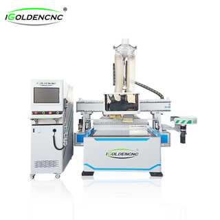 ATC furniture cnc router with drilling