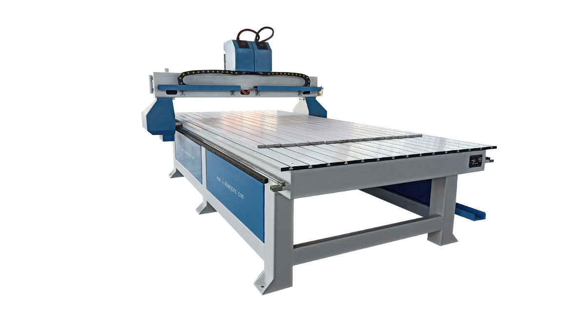 Dual Spindles Wood carving machine cnc router