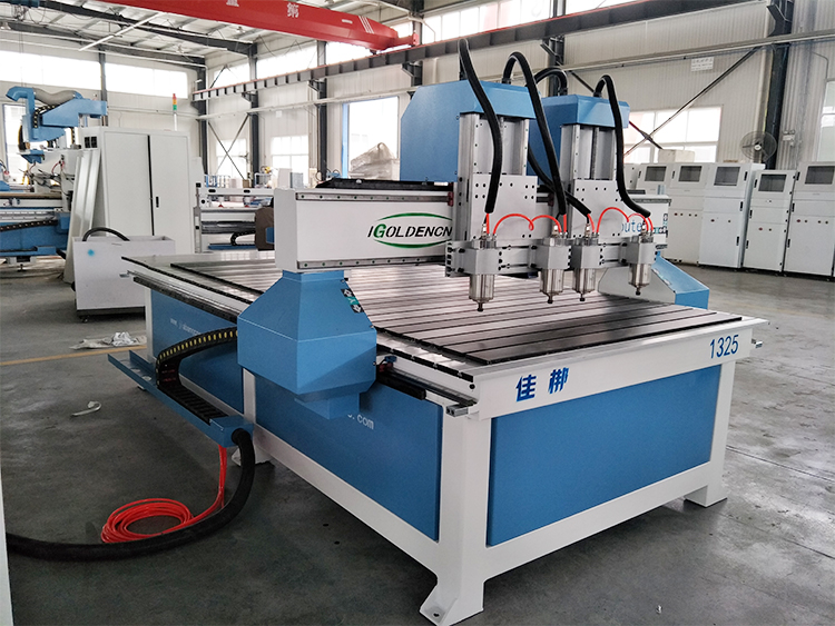 2-4 Multi Head Cnc Router Wood Carving Machine