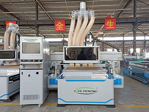 Four-process cnc router